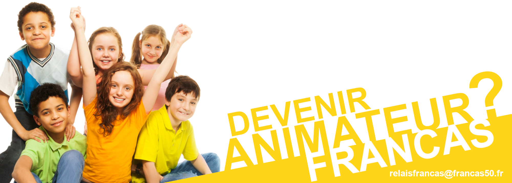 Recherche d'Animatrices/Animateurs